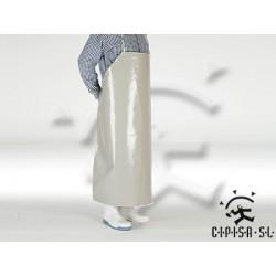 DELANTAL PVC GRIS