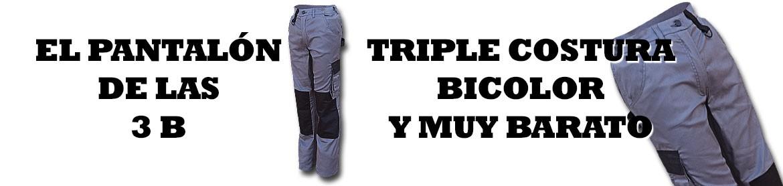 El pantalón de las 3 B