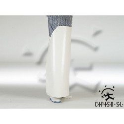 DELANTAL PVC BLANCO